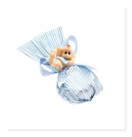 Bebek Yelpaze Mavi