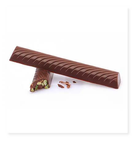 Antep fıstıklı stick çikolata