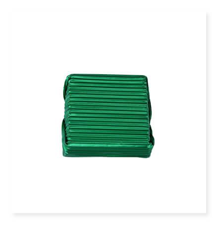 Yeşil Oluklu Büyük Kare